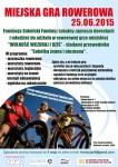plakat SFL gra rowerowa